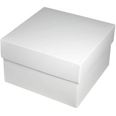 Square Large Gift Box - White