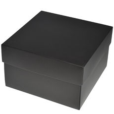 Square Large Gift Box - Matt Black