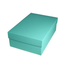 Shoe Gift Box - Matt Blue