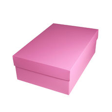 Shoe Gift Box - Matt Pink