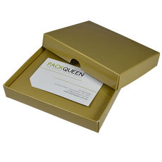 Gift Voucher Box - Gloss Gold