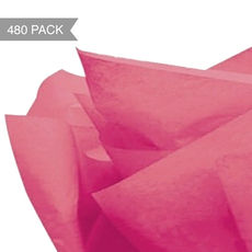 Hot Pink Tissue Paper - 500 x 760mm (Bulk 480 Sheets)