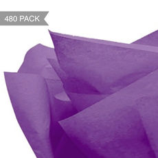 Purple Tissue Paper - 500 x 760mm (Bulk 480 Sheets)