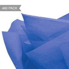 Royal Blue Tissue Paper - 500 x 760mm (Bulk 480 Sheets)