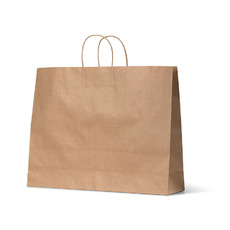 Brown Kraft Paper Gift Bag Boutique - 250PK
