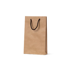 Deluxe Brown Kraft Paper Gift Bag Baby  - 500PK