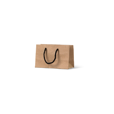 Deluxe Brown Kraft Paper Gift Bag Mini Gift  - 500 Pack