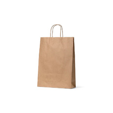 Brown Kraft Paper Gift Bag Midi - 250PK
