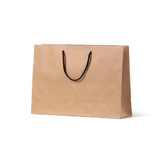 Deluxe Brown Kraft Paper Small Boutique - 250PK