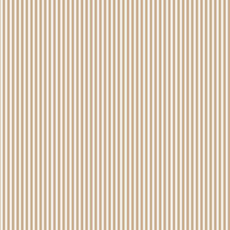 Wrapping Paper - Dress Stripe White/ Kraft 500mm x 50metres