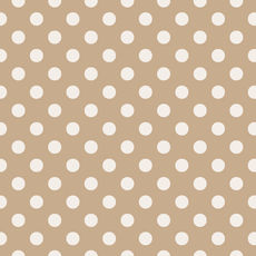 Wrapping Paper - Spot Wrap Kraft White 500mm x 50metres