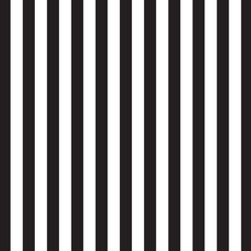 Wrapping Paper - Regatta Stripe Wrap Black 500mm x 50metres