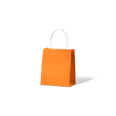 Carnival Paper Gift Bag Toddler - Orange 250PK