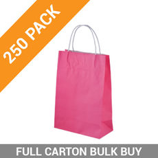 Carnival Paper Bag Junior - Pink 250PK