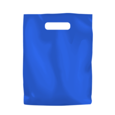 Plastic Bag Low Density Small - Blue 1000PK