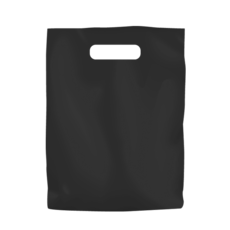 Plastic Bag Low Density Small - Black 1000PK