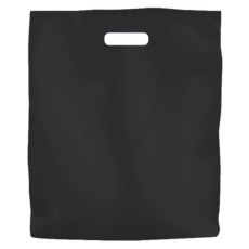 Plastic Bag Low Density Large - Black 500PK