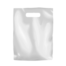 Plastic Bag Low Density Small - White 1000PK