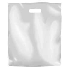 Plastic Bag Low Density Large - White 500PK