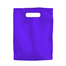 Plastic Bag Low Density Small - Purple 1000PK