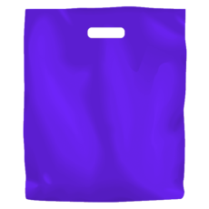 Plastic Bag Low Density Large - Purple 500PK