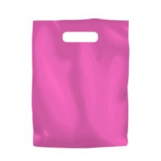 Plastic Bag High Density Small Hot Pink - 1000PK