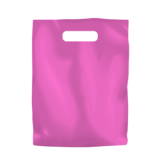 Plastic Bag Low Density Small - Hot Pink 1000PK