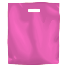 Plastic Bag Low Density Large - Hot Pink 500PK