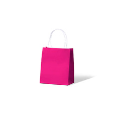 Carnival Paper Bag Toddler - Pink 250PK