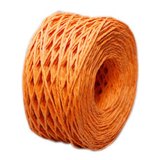 Orange Paper Twine 2mm x 100 metres