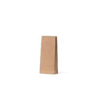Flat Bottom Brown Bags - Small - 500PK