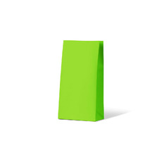 Carnival Gift Bag Medium No Handles - Lime 500PK
