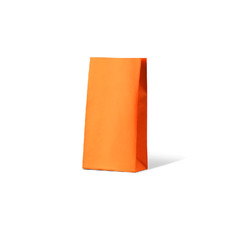 Carnival Gift Bag Medium No Handles - Orange 500PK