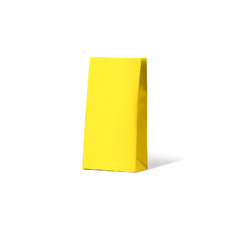 Carnival Gift Bag Medium No Handles - Yellow 500PK