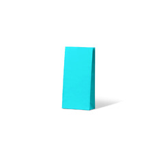 Carnival Gift Bag Small No Handles - Blue 500PK