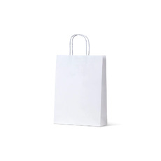 White Kraft Paper Bag Small - 250PK