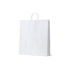 White Kraft Paper Bag Large - 250PK