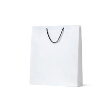Deluxe White Kraft Paper Bag Large - 250PK