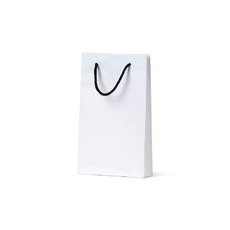 Deluxe White Kraft Paper Bag Baby  - 500PK