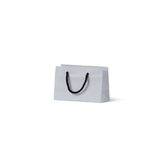 Deluxe White Kraft Paper Bag Mini Gift  - 500K