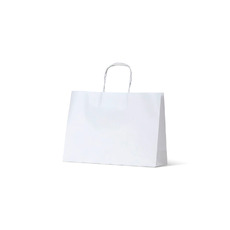 White Kraft Paper Bag Small Boutique - 250PK