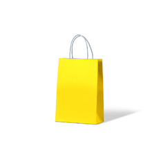 Carnival Paper Bag Junior - Yellow 250PK