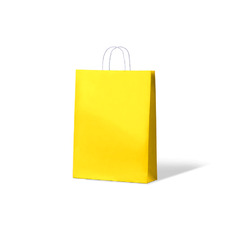 Carnival Paper Bag Midi - Yellow 250PK