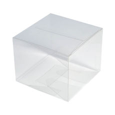 Clear Transparent Cupcake Box - Small