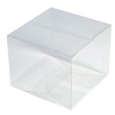 Clear Transparent Cupcake Box - Large