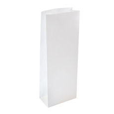 500PK Retail 500g Paper Bag - White Discontinued (1PK left)