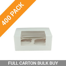 400PK 2 Cupcake Box with Insert
