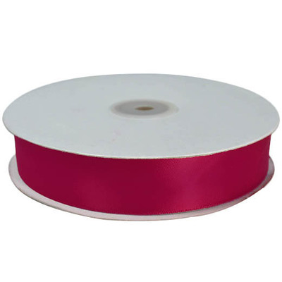 Satin Ribbon (25mm x 45metres) - Burgundy (Temp out of stock)