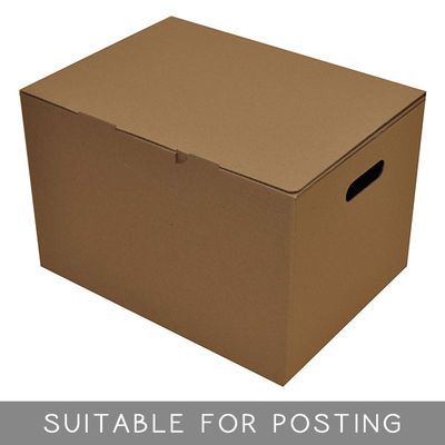 Archive Postage Box Brown