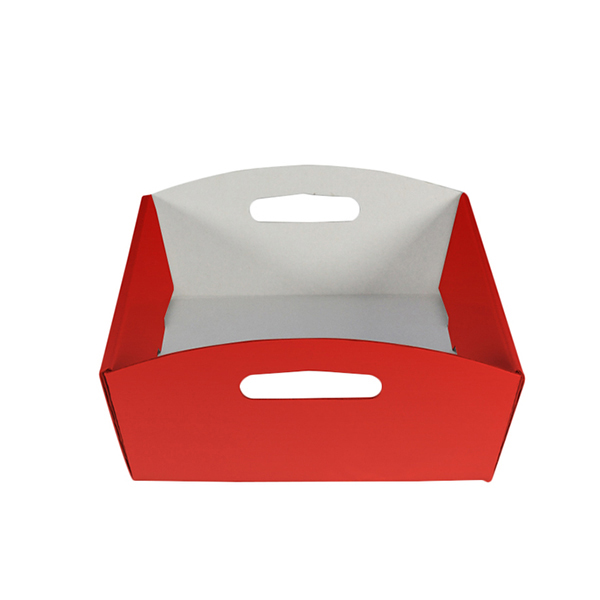 Large Hamper Tray - Gloss Red